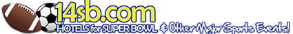 14sb.com -Book hotels & packages for Super Bowl and other major sporting events worldwide