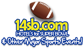 14sb-com -  Super Bowl & major sporting events hotel packages & tickets!