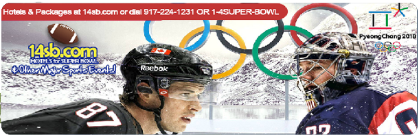 Book hotels at the best rates and luxury packages for Winter Olympic Games, click here!