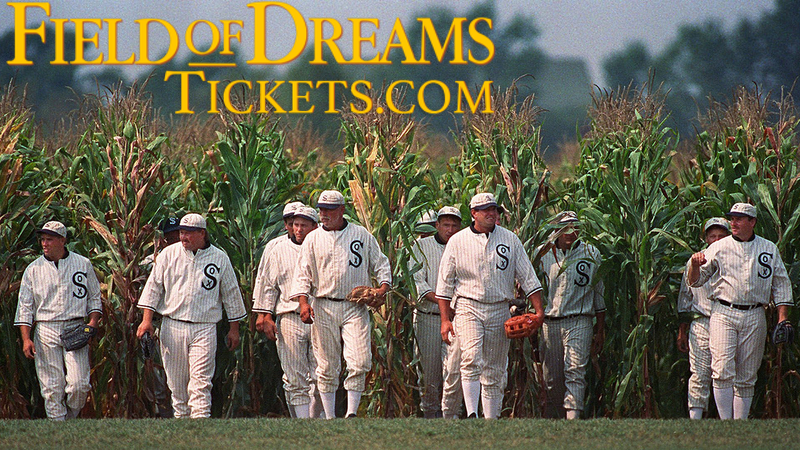 Get your tickets for the MLB Field of Dreams Game in Dyersville, Iowa, on August 13, 2020!
