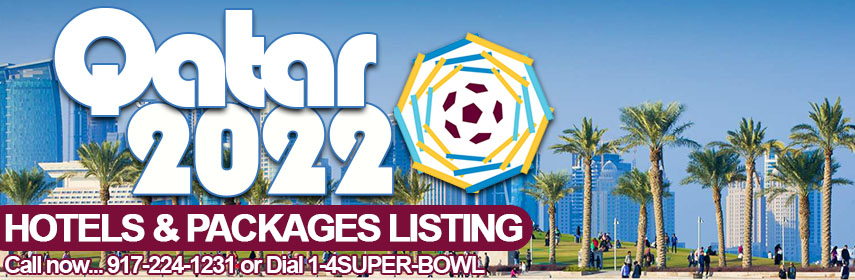 Book luxury 5-star & budget hotels for FIFA World Cup 2022 Qatar - book now at 14sb.com