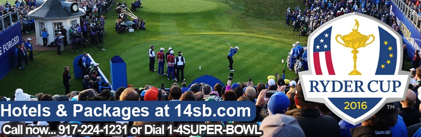 Ryder Cup hotels downtown and best deals