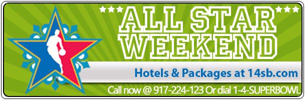 NBA ALL STAR GAME HOTELS