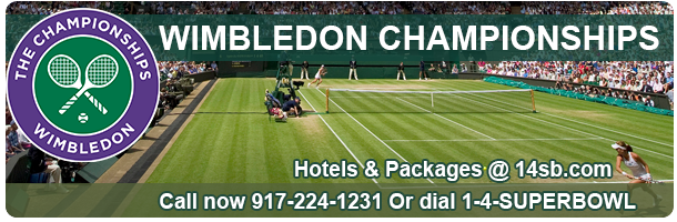 Book now WimbledonChampionships Hotels, last minute deals on hotels and packages only @ 14sb.com click here to book!
