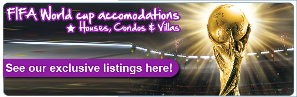 Fifa world cup other accommodations, Villas, Condos & Houses