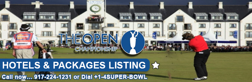 Book Hotels for British Open - book now at 14sb.com