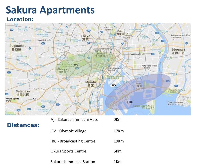 Sakura Apartments - Tokyo 2020 Olympics