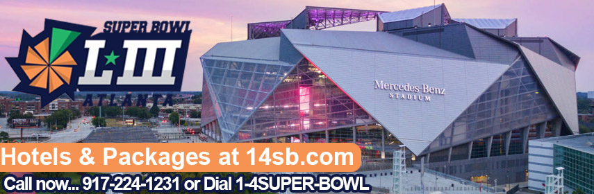 Reserve luxury accommodation for Super Bowl