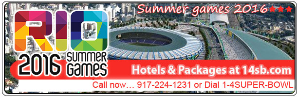 Book hotels at the best rates and luxury packages for Summer & Winter Olympic GAmes, click here!