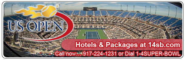 U.S. Open Hotels, best prices, hard to find dates at 14sb.com